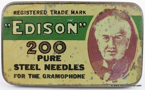 EDISON Gramophone Needle Tin