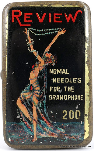 REVIEW Gramophone Needle Tin  **RARE**