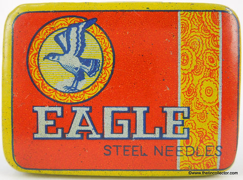 EAGLE Gramophone Needle Tin