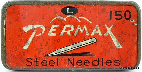 PERMAX Gramophone Needle Tin