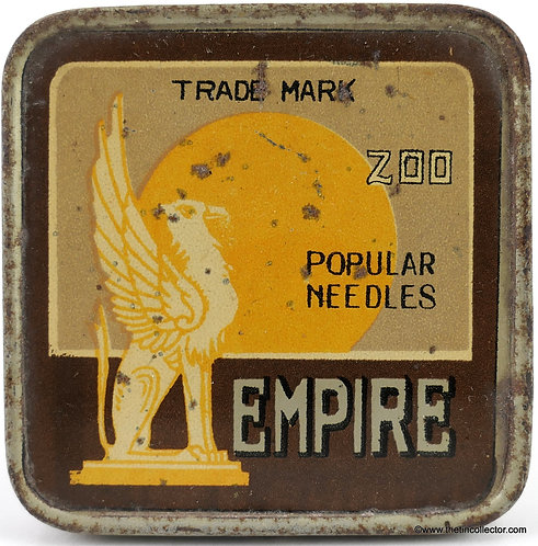 EMPIRE Gramophone Needle Tin