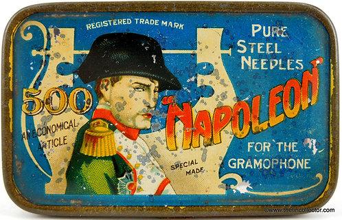 NAPOLEON Gramophone Needle Tin - Large 500 Size