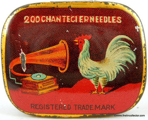 CHANTECLER Gramophone Needle Tin