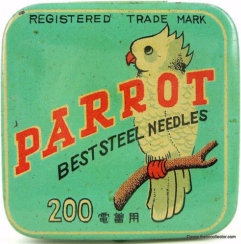 PARROT Gramophone Needle Tin - 200 size