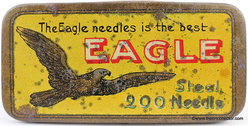 EAGLE Gramophone Needle Tin