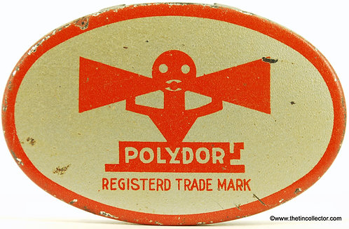POLYDOR Gramophone Needle Tin