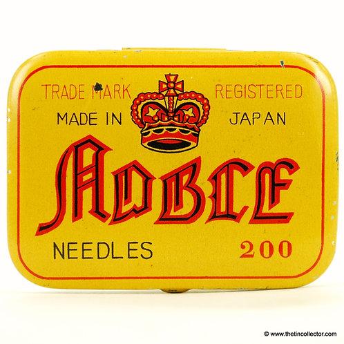 NOBLE Gramophone Needle Tin