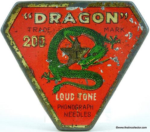 DRAGON Gramophone Needle Tin
