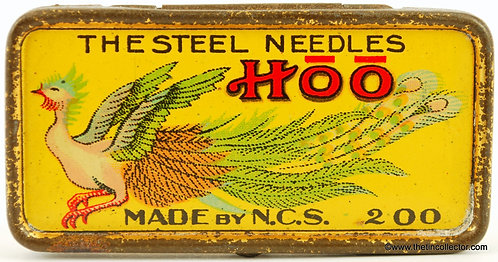 HOO Gramophone Needle Tin