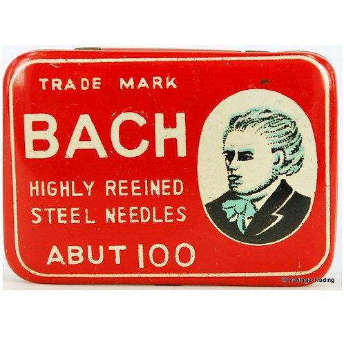 BACH Gramophone Needle Tin
