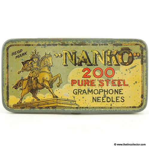 NANKO Gramophone Needle Tin
