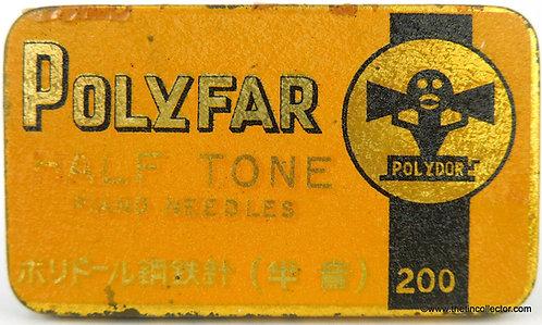 POLYFAR Gramophone Needle Tin