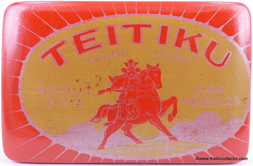 TEITIKU Gramophone Needle Case (PLASTIC)