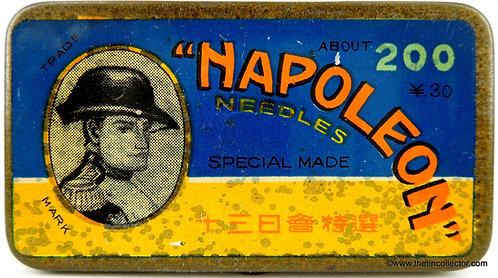 NAPOLEON Gramophone Needle Tin (Domestic Version)