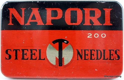 NAPORI Gramophone Needle Tin