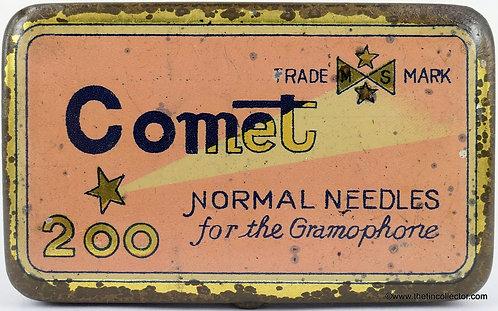 COMET Gramophone Needle Tin