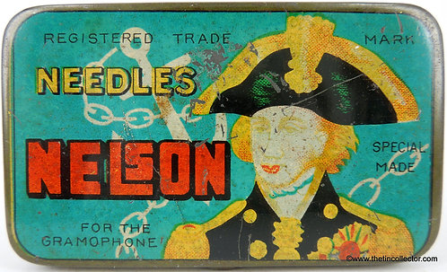 NELSON Gramophone Needle Tin