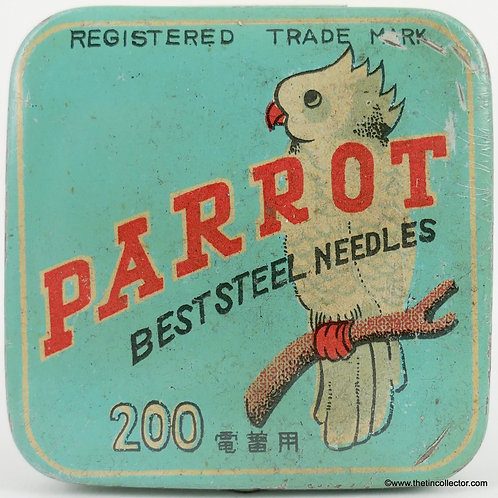 PARROT Gramophone Needle Tin
