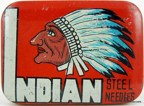 INDIAN Gramophone Needle Tin
