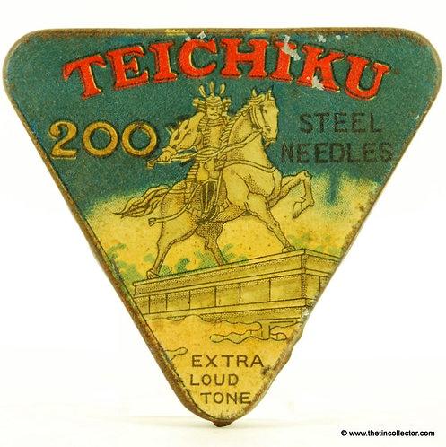 TEICHIKU Gramophone Needle Tin