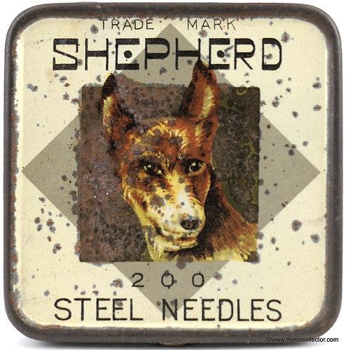 SHEPHERD Gramophone Needle Tin