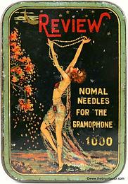 REVIEW 1000 gramophone needle tin