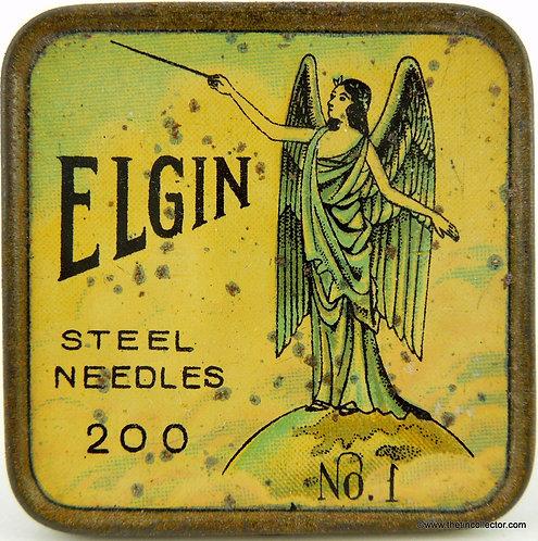 ELGIN Gramophone Needle Tin