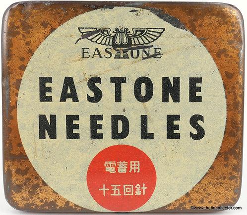 EASTONE Gramophone Needle Tin