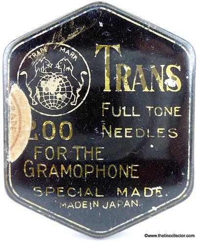 TRANS Gramophone Needle Tin
