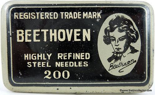 BEETHOVEN Gramophone Needle Tin