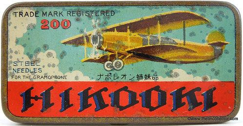 HIKOOKI Gramophone Needle Tin (2OO size)