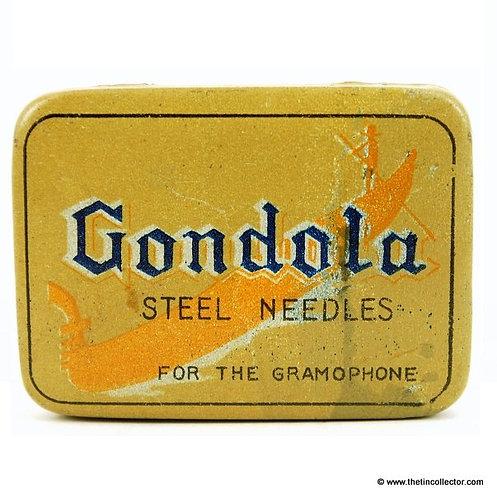 GONDOLA Gramophone Needle Tin