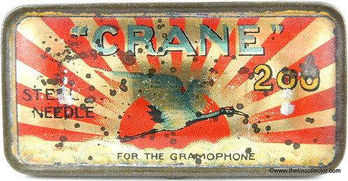 CRANE Gramophone Needle Tin