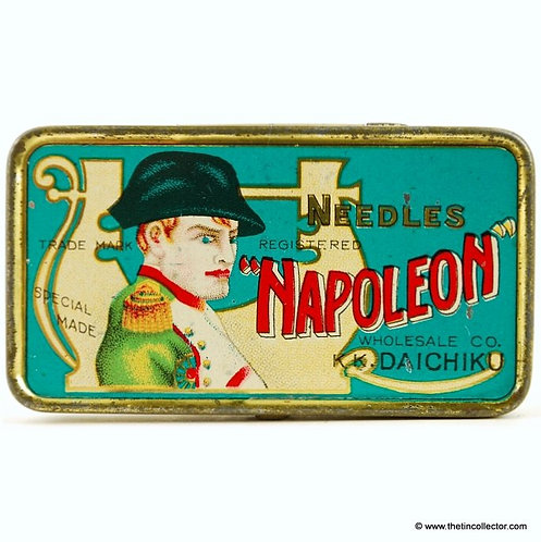 NAPOLEON Gramophone Needle Tin (Domestic Version)