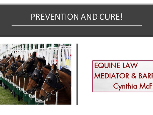 3 steps for racehorse trainers to prevent loss of business