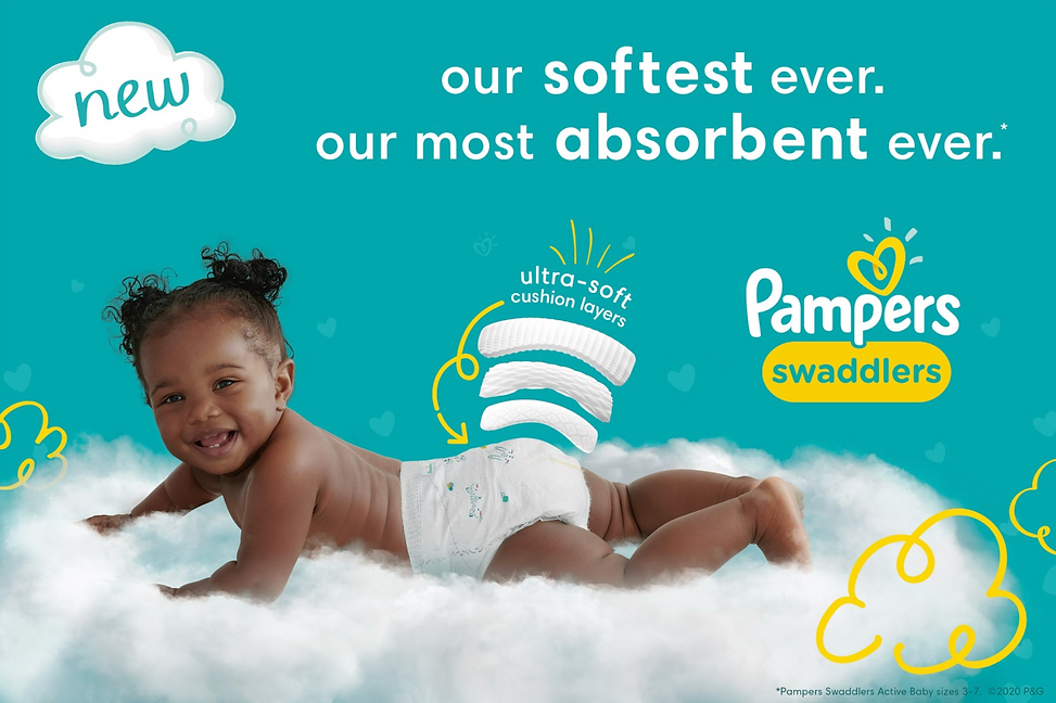 New pampers Swaddlers KV