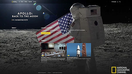 Apollo: Back to the Moon on National Geogaphic Channel