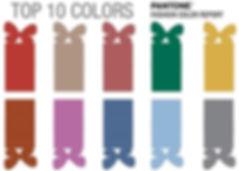 Палитра модных цветов 2017 года