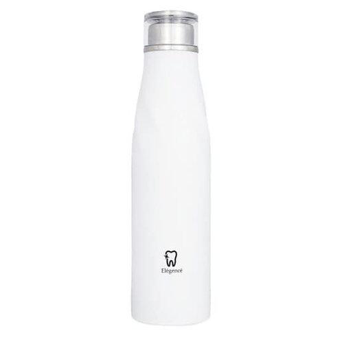 Elégencé Copper Vacuum-Insulated Bottle (White)