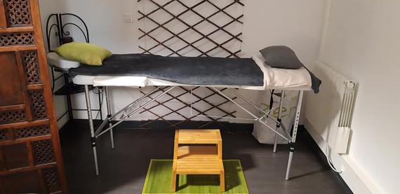 Espace massage et réflexologie plantaire
