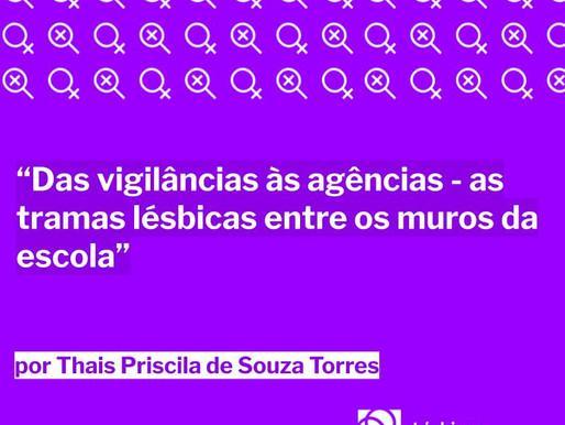 Das vigilâncias às agências – as tramas lésbicas entre os muros da escola