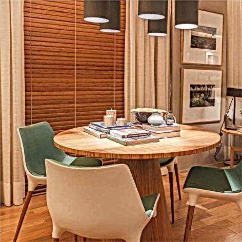 Persiana Bambu Horizontal 5mm