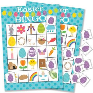 Easter Bingo for kids