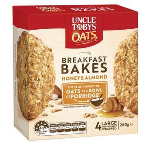 Uncle Tobys Oats Breakfast Bakes