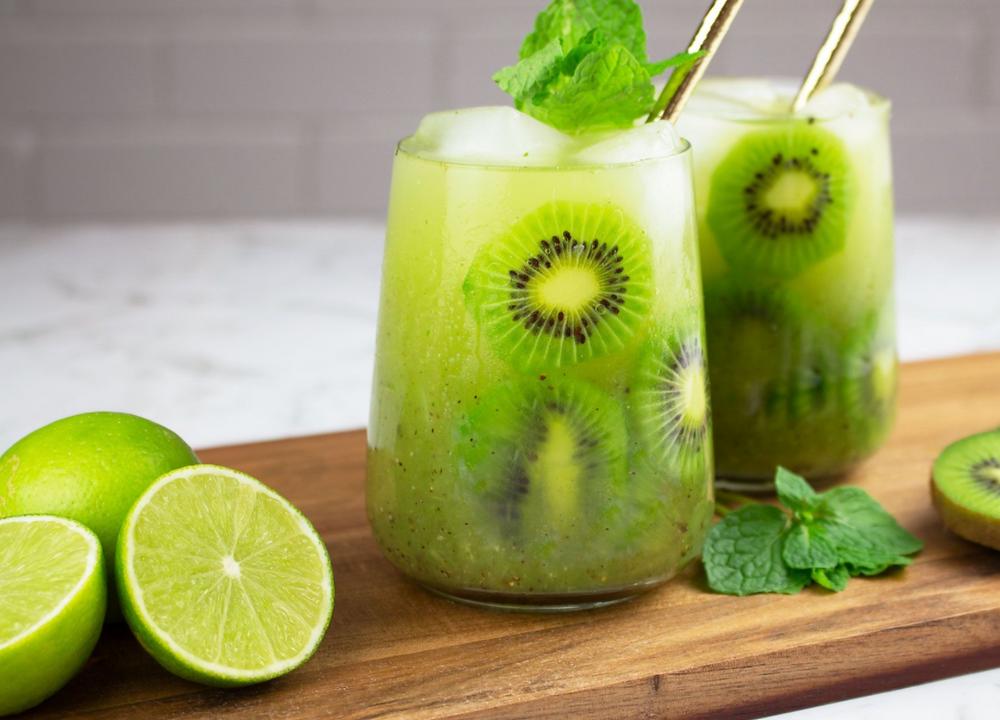 kiwi fruit mocktail