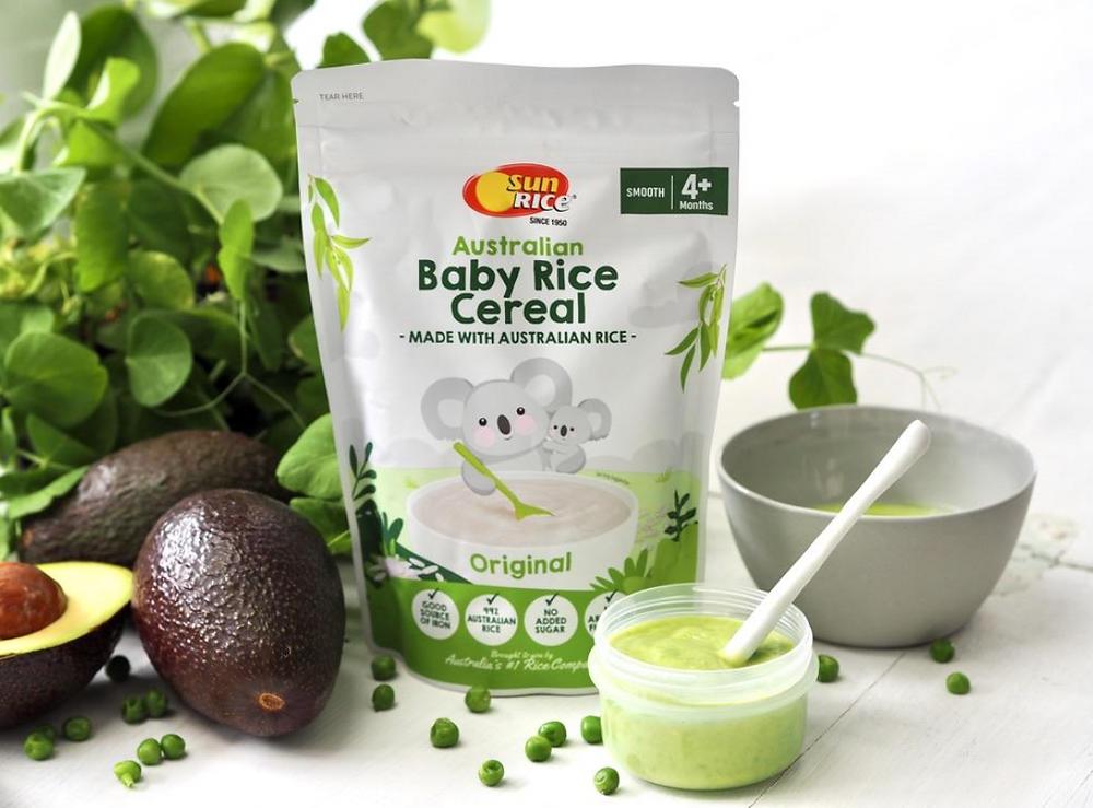 sunrice baby rice cereal