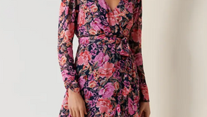 Hot right now: the floral dress