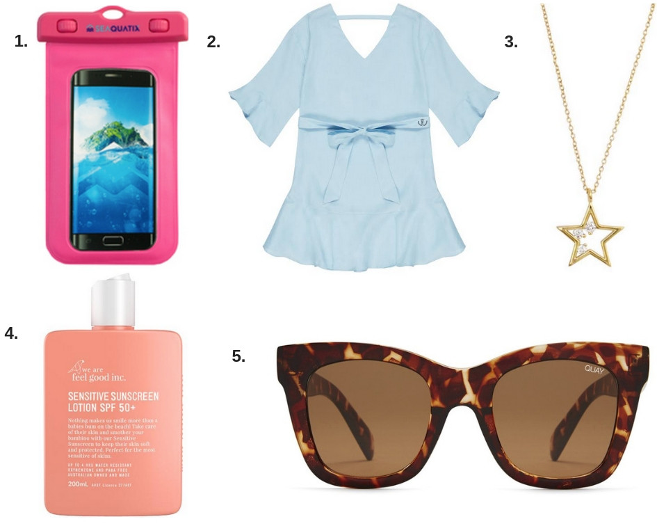 summer holiday essentials