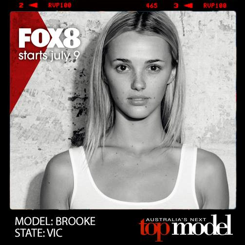 brooke hogan australias next top model