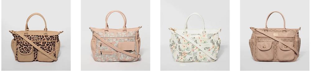 stylish nappy bag
